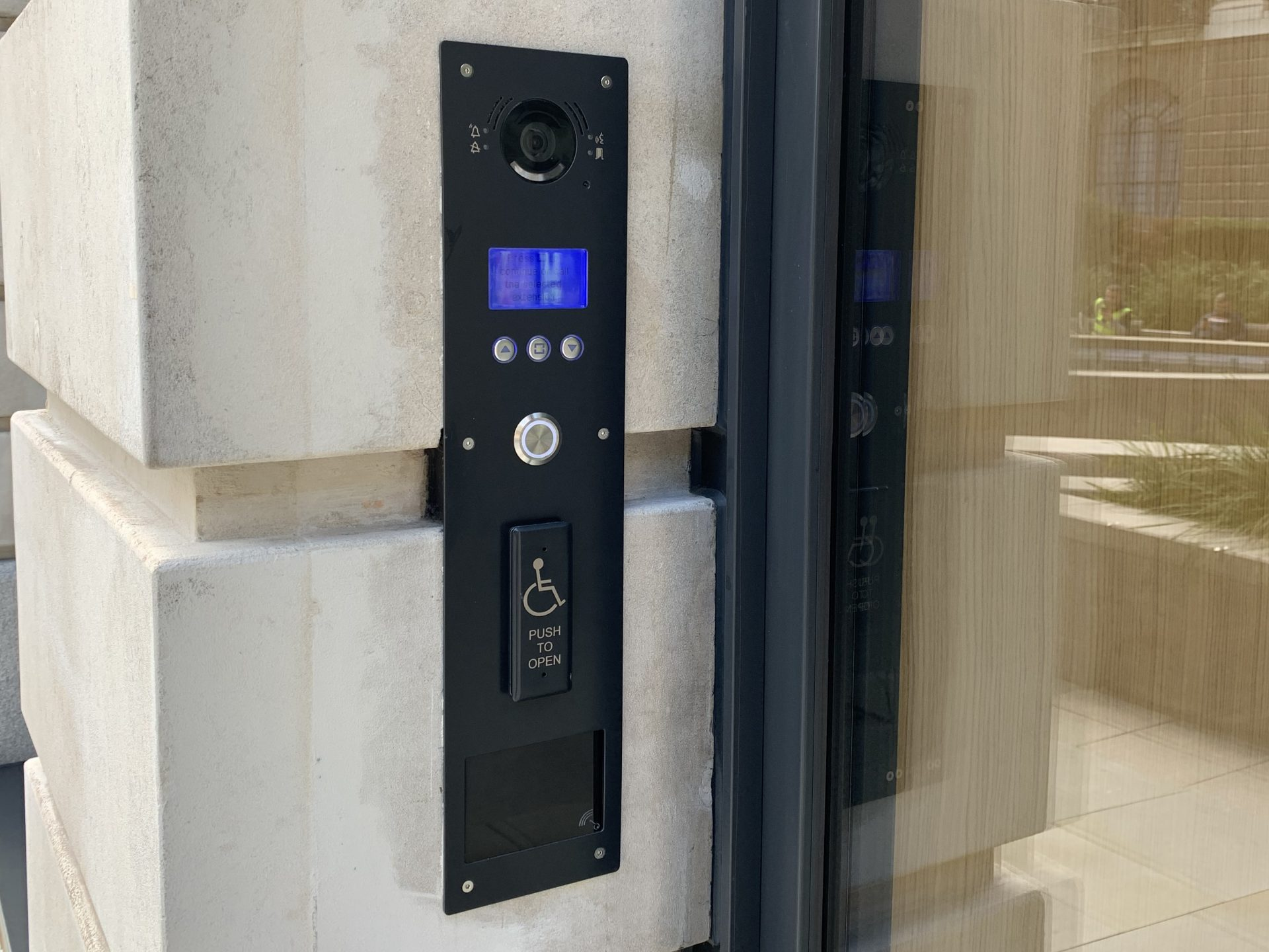 The Bailey_intercom and door access